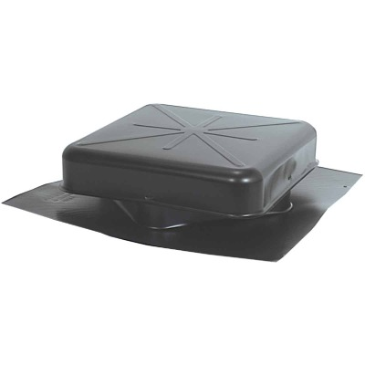 Airhawk 50 In. Black Galvanized Steel Square Roof Vent