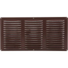 Air Vent 16 In. x 8 In. Brown Aluminum Under Eave Vent Image 2
