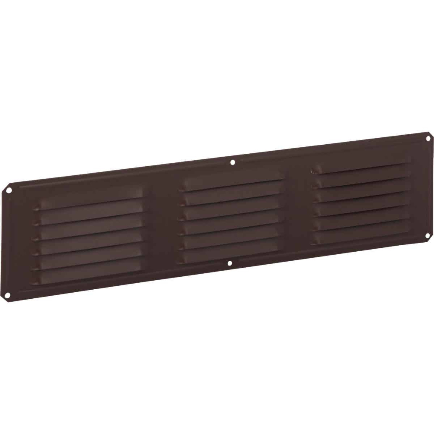 Air Vent 16 In. x 4 In. Brown Aluminum Under Eave Vent Image 1