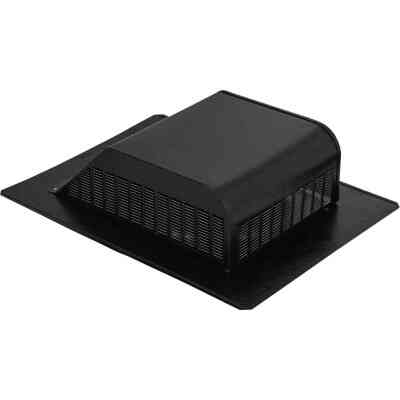 Airhawk 50 In. Black Aluminum Slant Back Roof Vent