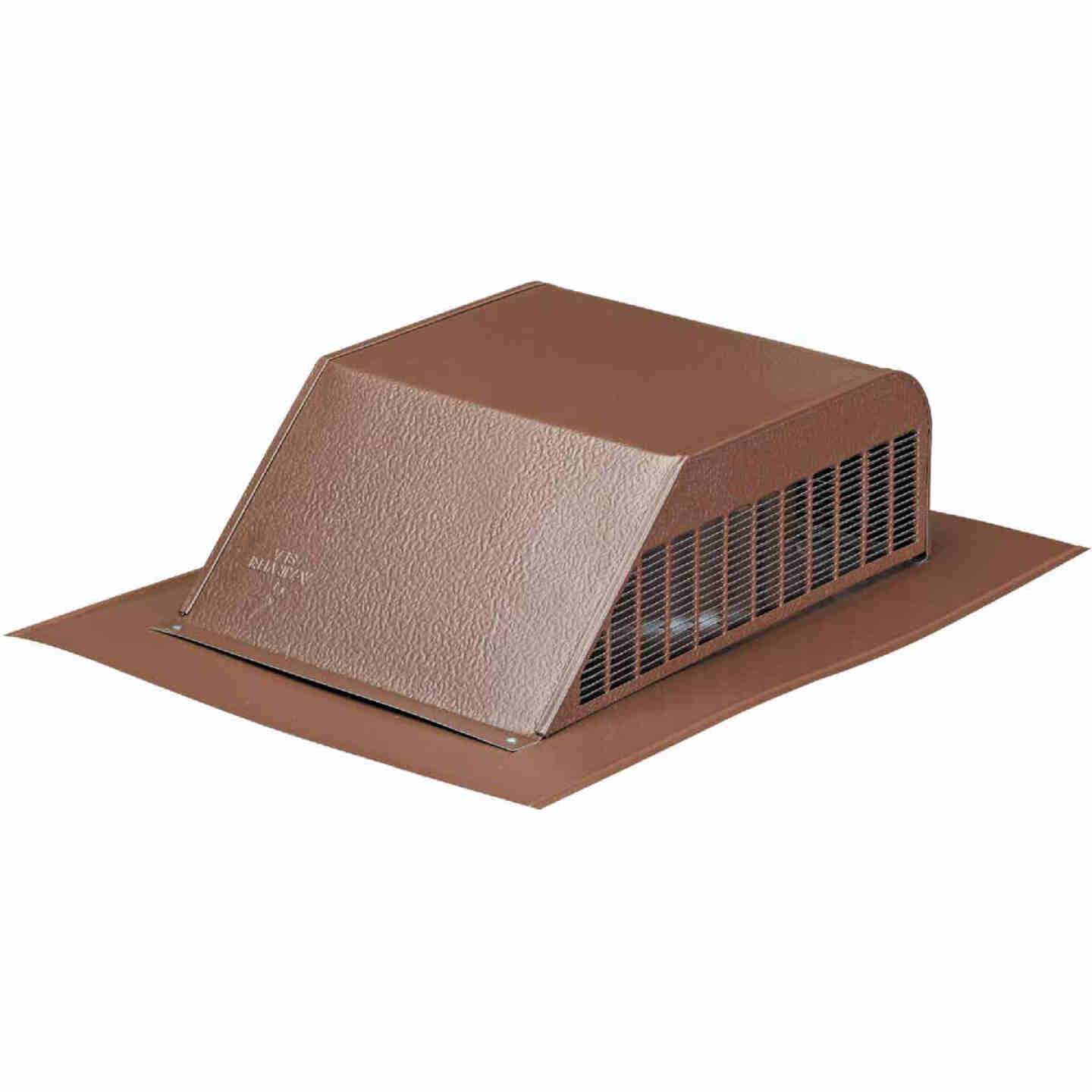 Airhawk 50 In. Brown Aluminum Slant Back Roof Vent Image 1