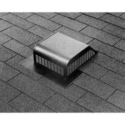 Airhawk 50 In. Mill Galvanized Steel Slant Back Roof Vent