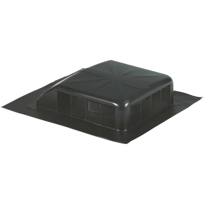 Airhawk 50 In. Black Galvanized Steel Slant Back Roof Vent