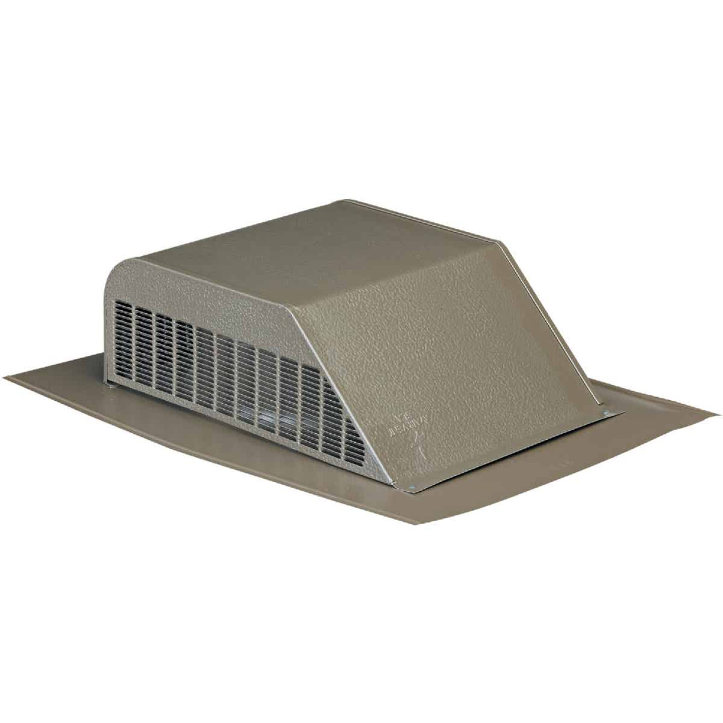 Airhawk 50 In. Weatherwood Galvanized Steel Slant Back Roof Vent Image 1