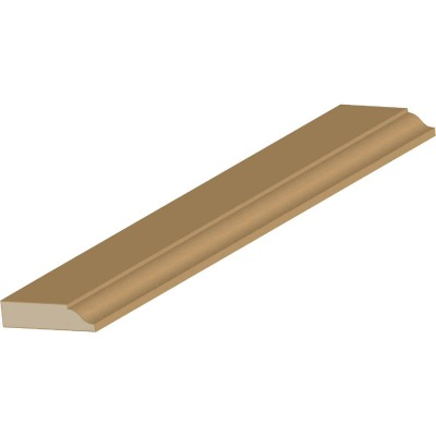 Cedar Creek WM947 3/8 In. W. x 1-1/4 In. H. x 7 Ft. L. Solid Pine Colonial Door Stop Molding