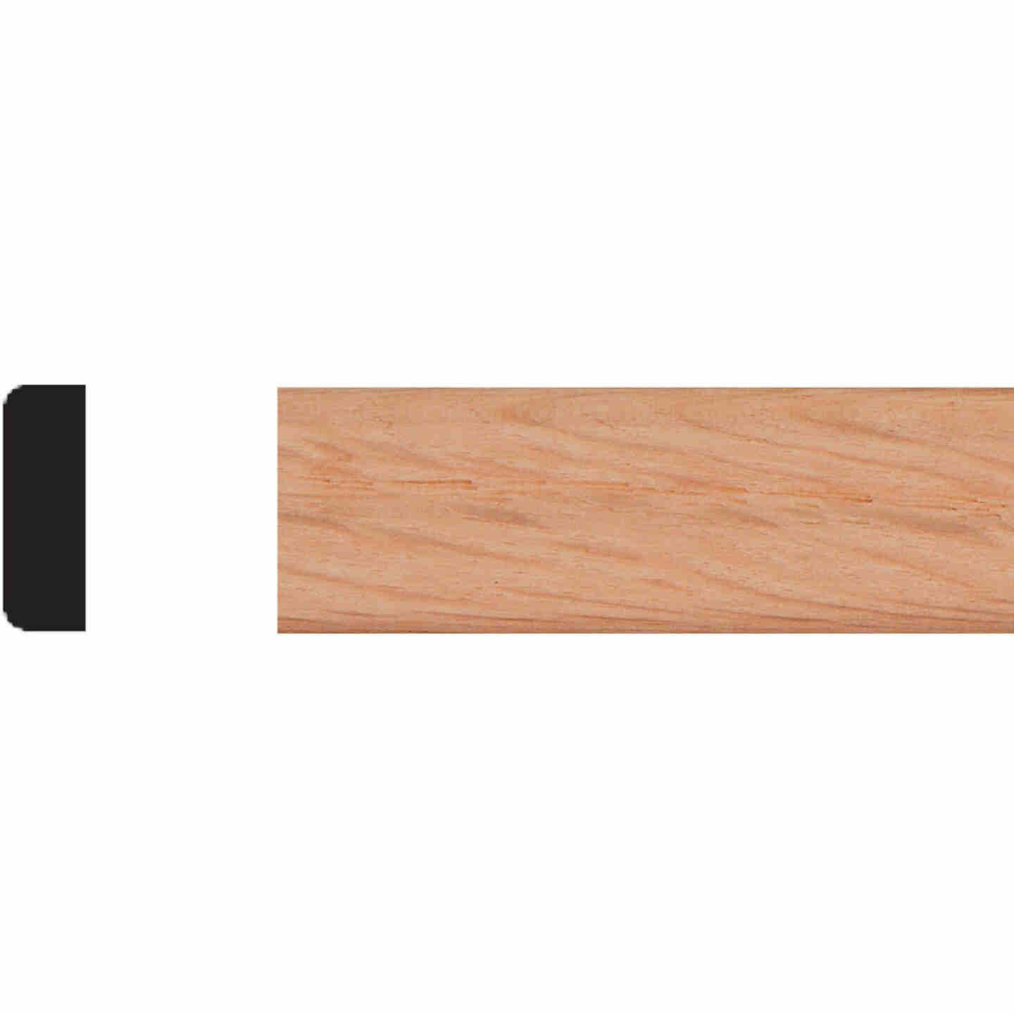 House of Fara 1/4 In. x 3/4 In. x 8 Ft. Unfinished Red Oak Screen Bead Molding Image 1