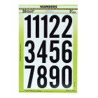 Hy-Ko 3 In. Self-Adhesive Assortment Numbers Image 1