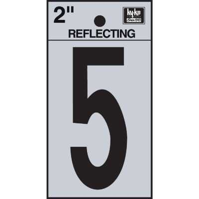 Hy-Ko Vinyl 2 In. Reflective Adhesive Number Five