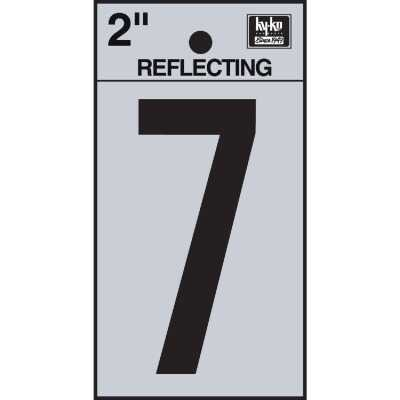 Hy-Ko Vinyl 2 In. Reflective Adhesive Number Seven
