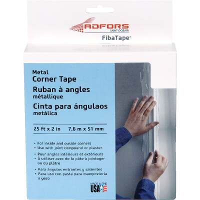 FibaTape 2 In. x 25 Ft. Steel Reinforced Corner Drywall Tape