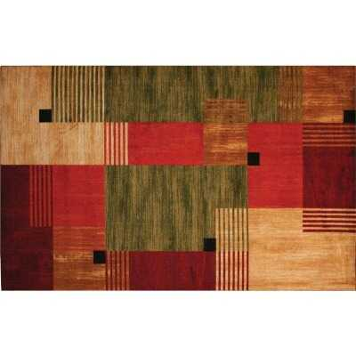 Mohawk Home Alliance Multi-Color 5 Ft. x 8 Ft. Area Rug