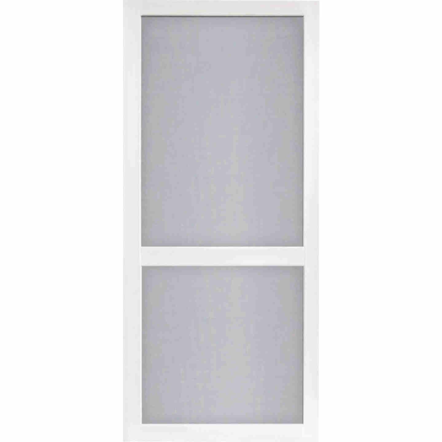 Screen Tight Vinylcraft 36 In. W x 80 In. H x 1 In. Thick White Vinyl Screen Door Image 1