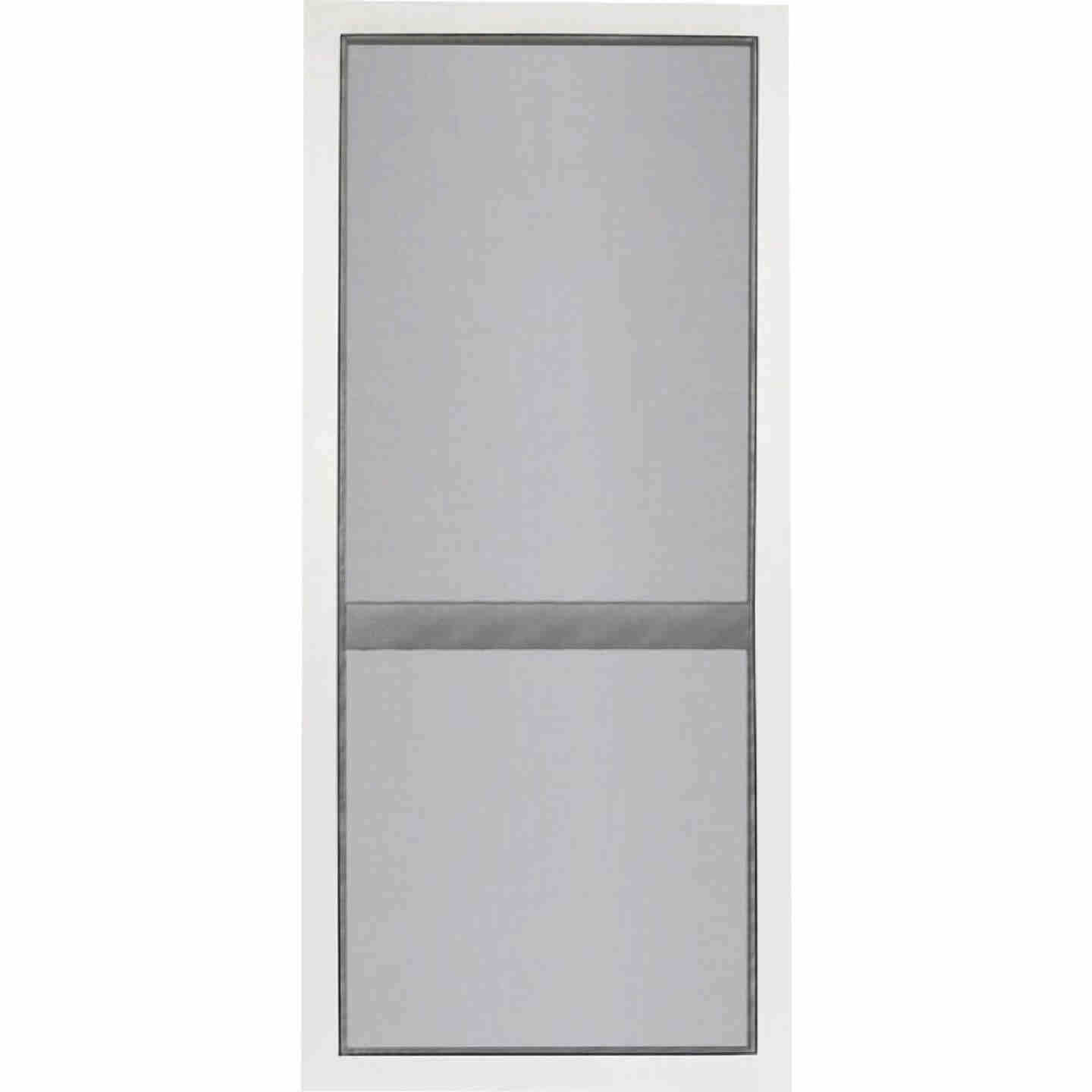 Screen Tight Vinylcraft 36 In. W x 80 In. H x 1 In. Thick White Vinyl Screen Door Image 2