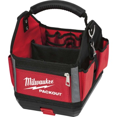 Milwaukee PACKOUT 28-Pocket 10 In. Tool Tote