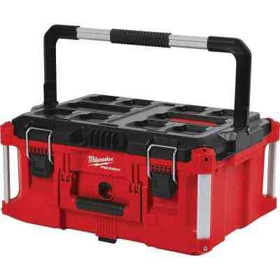 Milwaukee PACKOUT 16 In. x 11 In. Large Toolbox, 100 Lb. Capacity