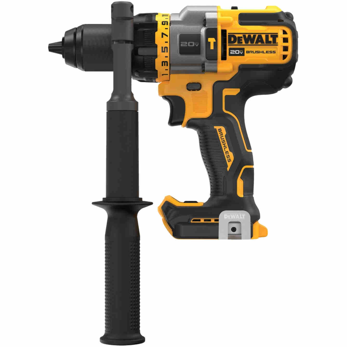 DeWalt 20 Volt MAX Lithium-Ion Brushless 1/2 In. Cordless Hammer Drill with Flexvolt Advantage (Bare Tool) Image 2