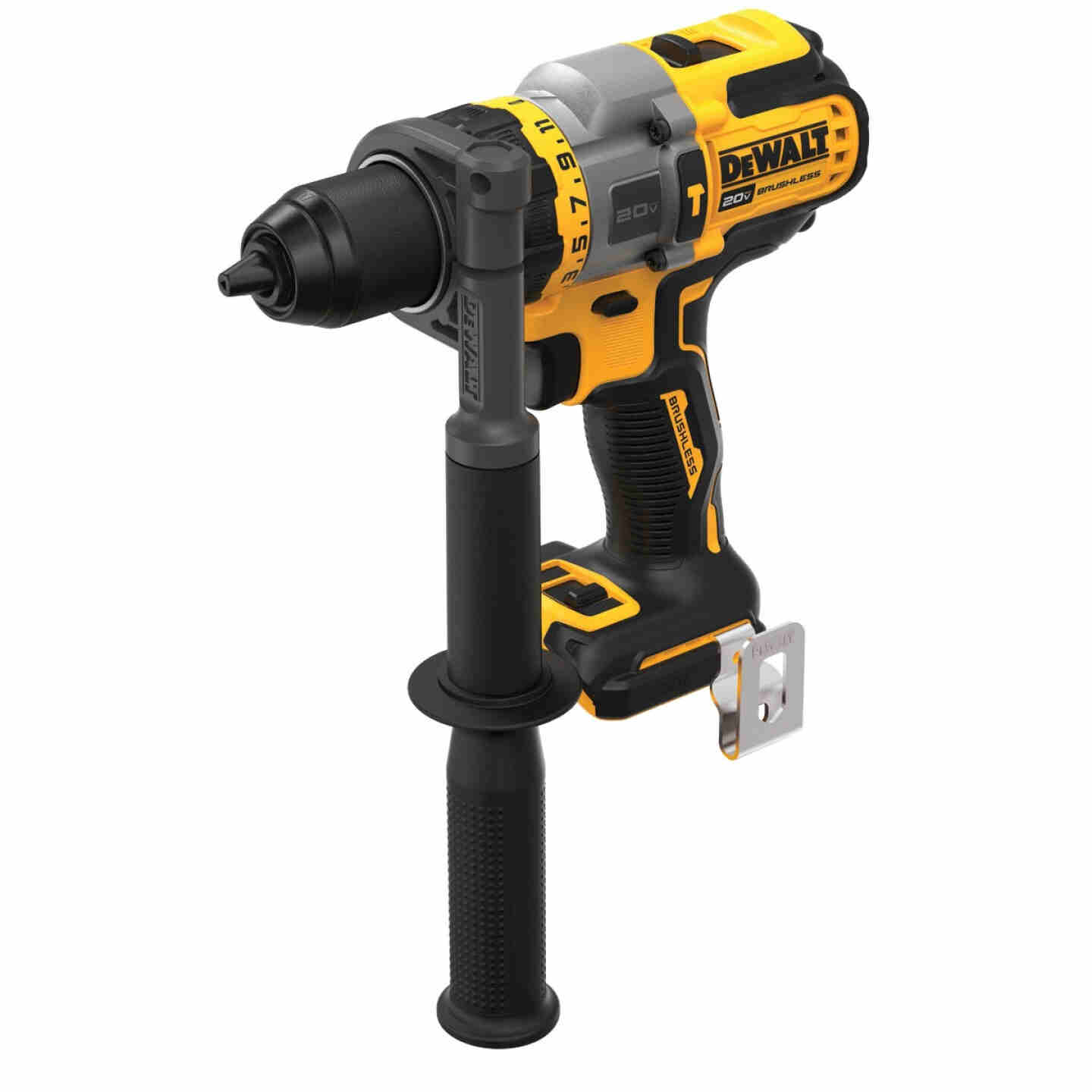 DeWalt 20 Volt MAX Lithium-Ion Brushless 1/2 In. Cordless Hammer Drill with Flexvolt Advantage (Bare Tool) Image 1