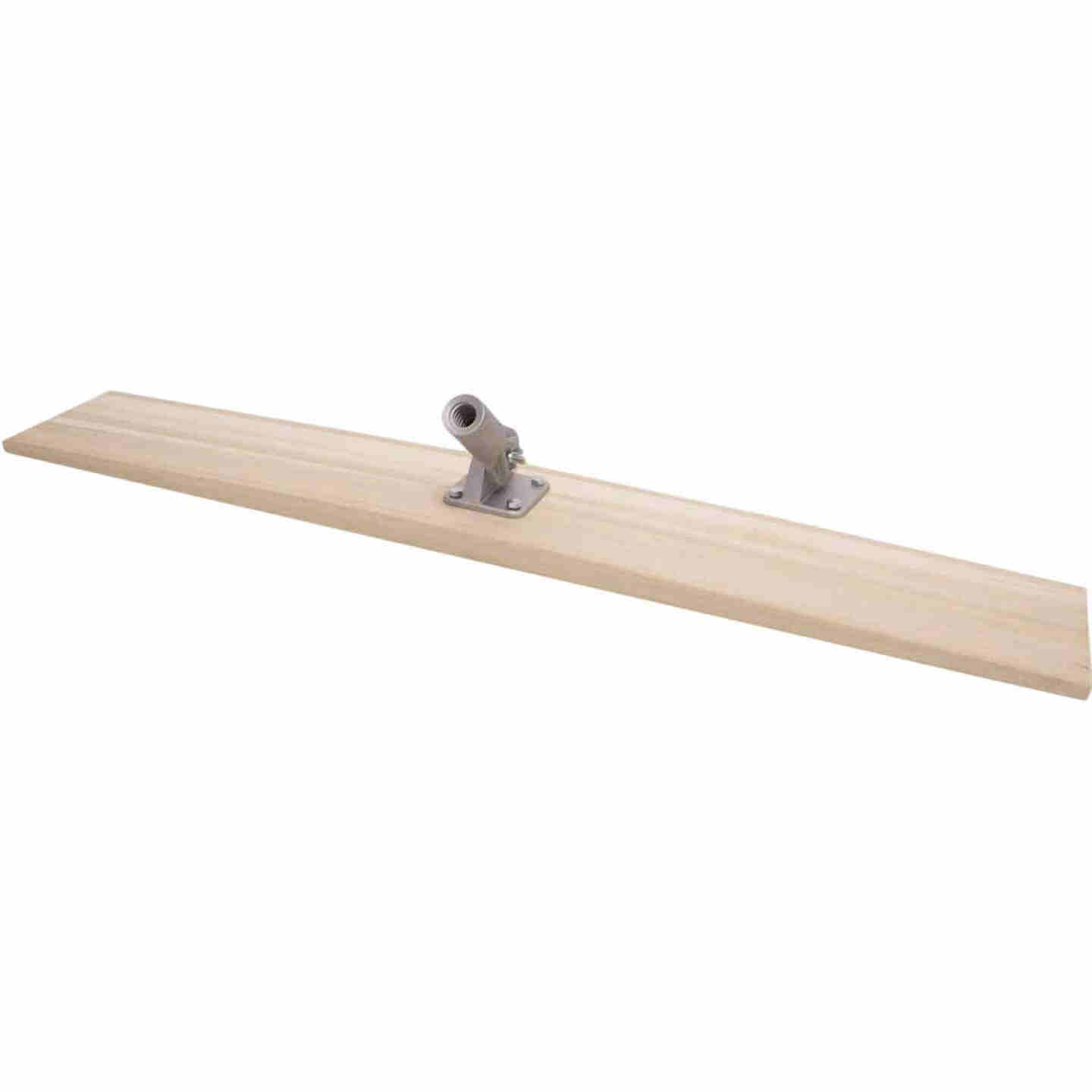 Marshalltown 8 In. x 48 In. Straight End Wood Bull Float Image 2