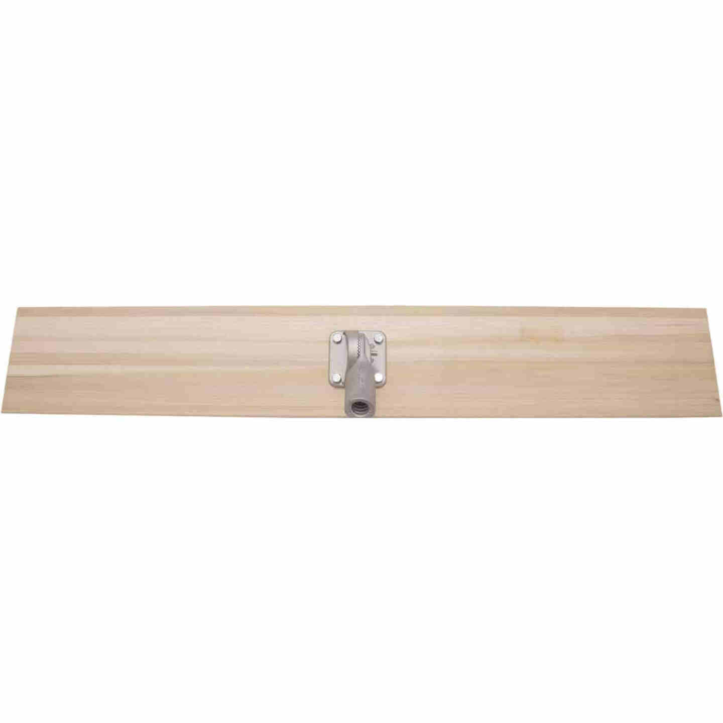 Marshalltown 8 In. x 48 In. Straight End Wood Bull Float Image 3