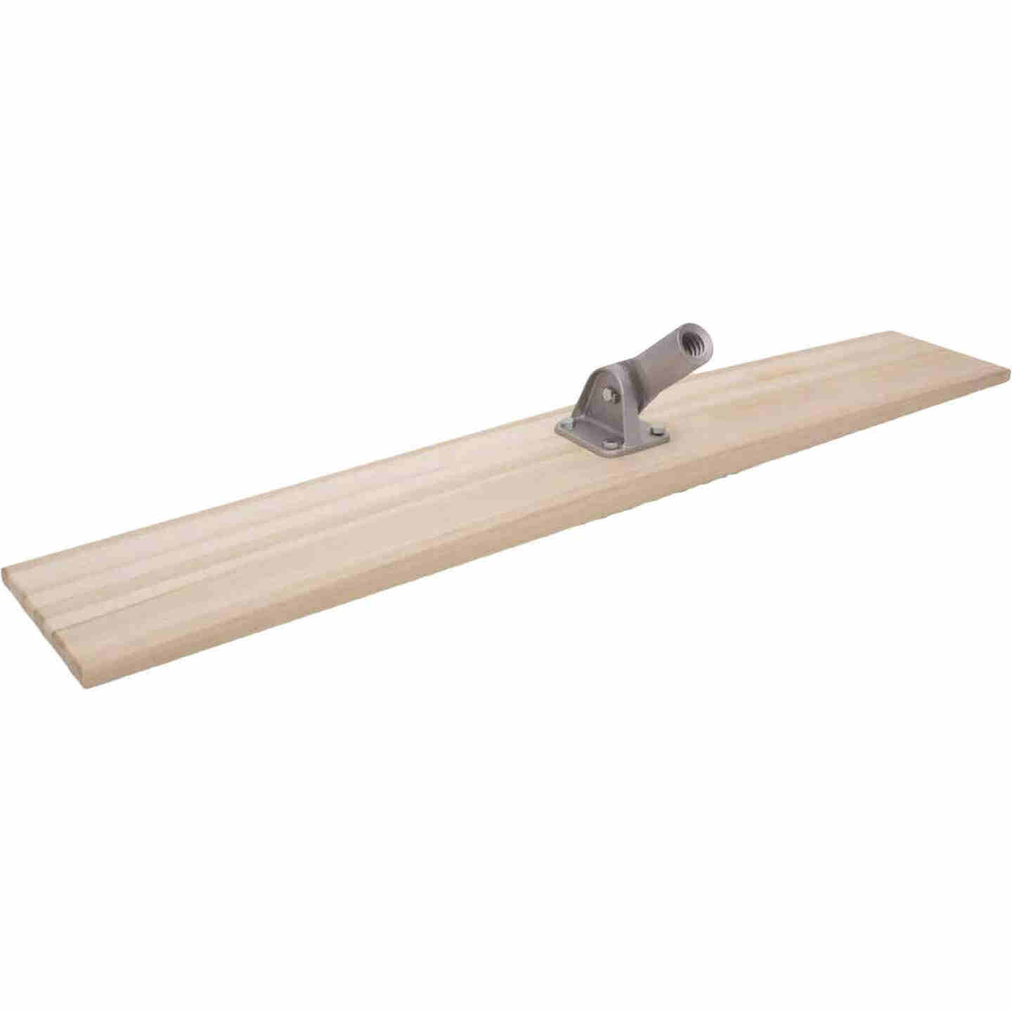 Marshalltown 8 In. x 48 In. Straight End Wood Bull Float Image 1