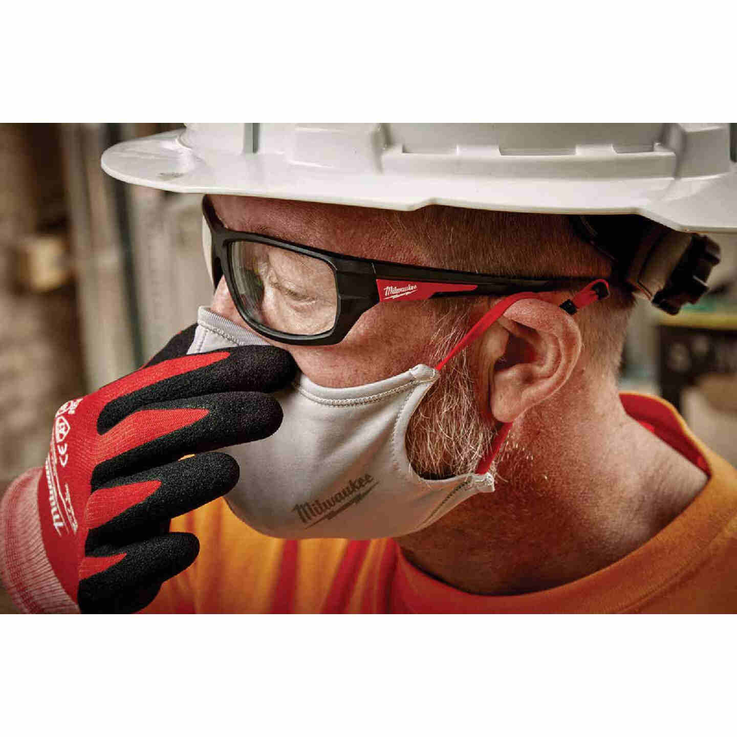 Milwaukee Gray 2-Layer Washable Dust & Face Mask (3-Pack) Image 2