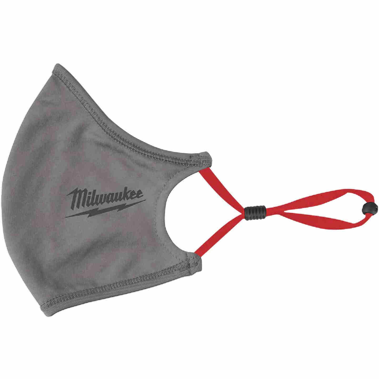 Milwaukee Gray 2-Layer Washable Dust & Face Mask (3-Pack) Image 7