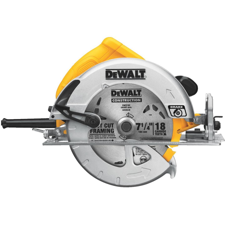 DeWalt 7-1/4 In. 15-Amp Lightweight Circular Saw Image 2