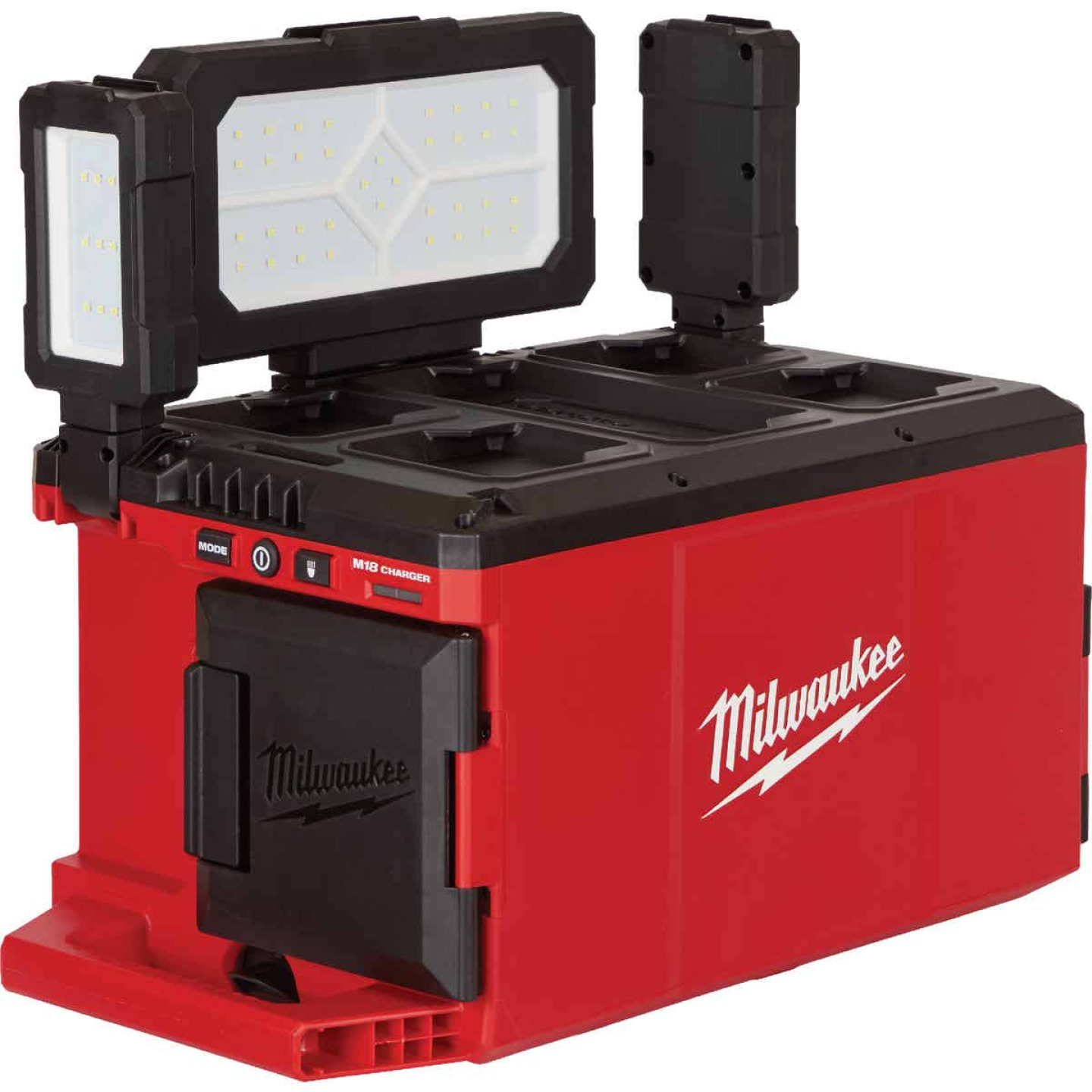 Milwaukee M18 18 Volt Lithium-Ion PACKOUT Corded/Cordless Work Light/Charger Image 2