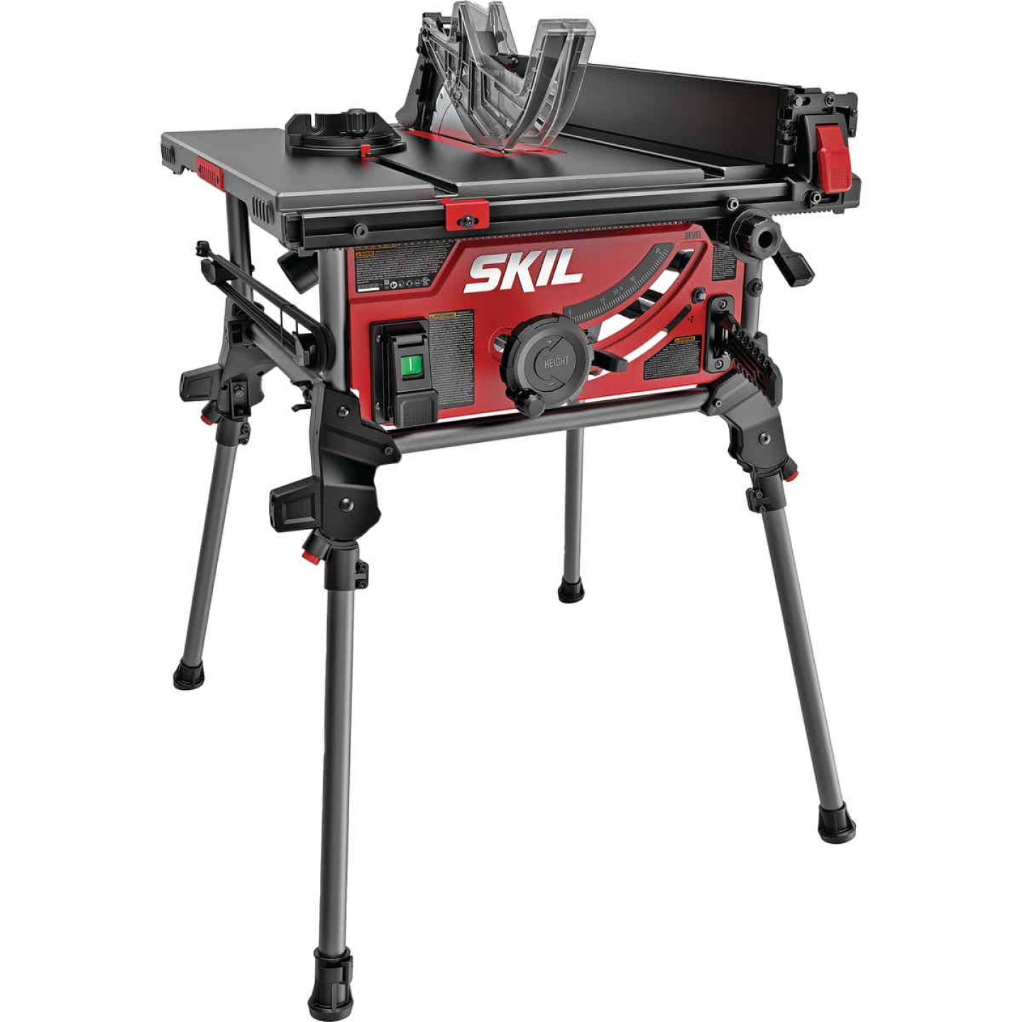 SKIL 15A 10 In. Table Saw with Integrated Folding Stand Image 1
