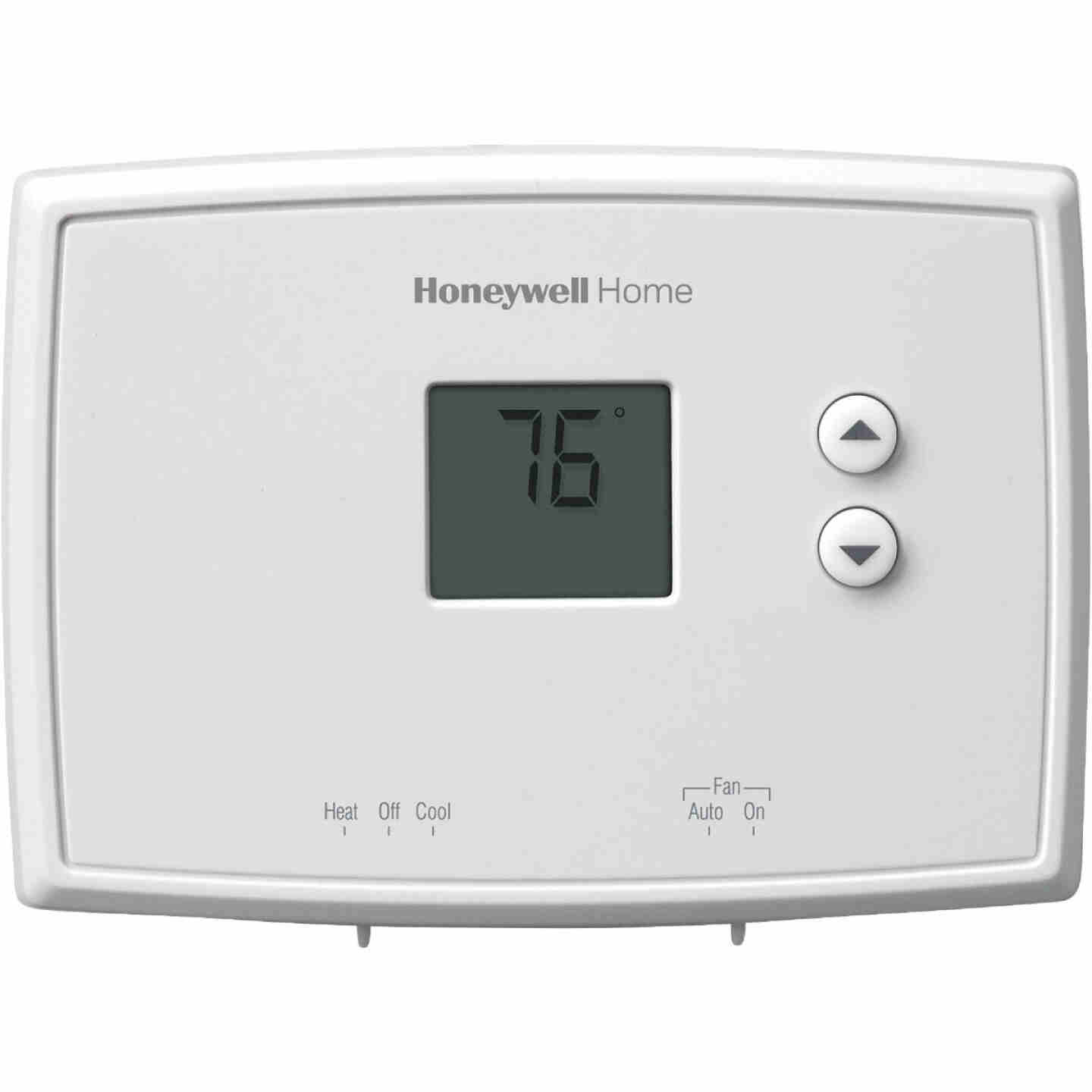 Honeywell Home Non-Programmable White Digital Thermostat Image 1