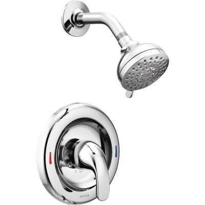 Moen Chrome 1-Handle Lever Shower Faucet