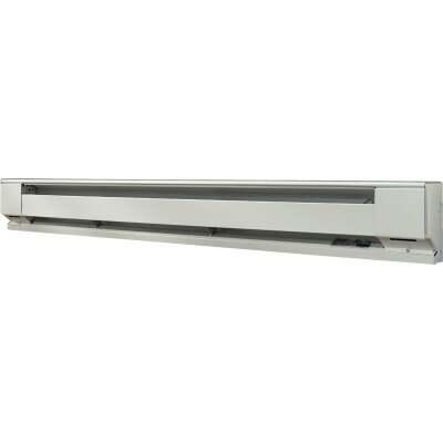 Fahrenheat 72 In. 1500-Watt 120-Volt Electric Baseboard Heater, Northern White