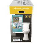 American Standard Astute VorMax Right Height White Elongated Bowl 1.28 GPF Complete Toilet Image 4