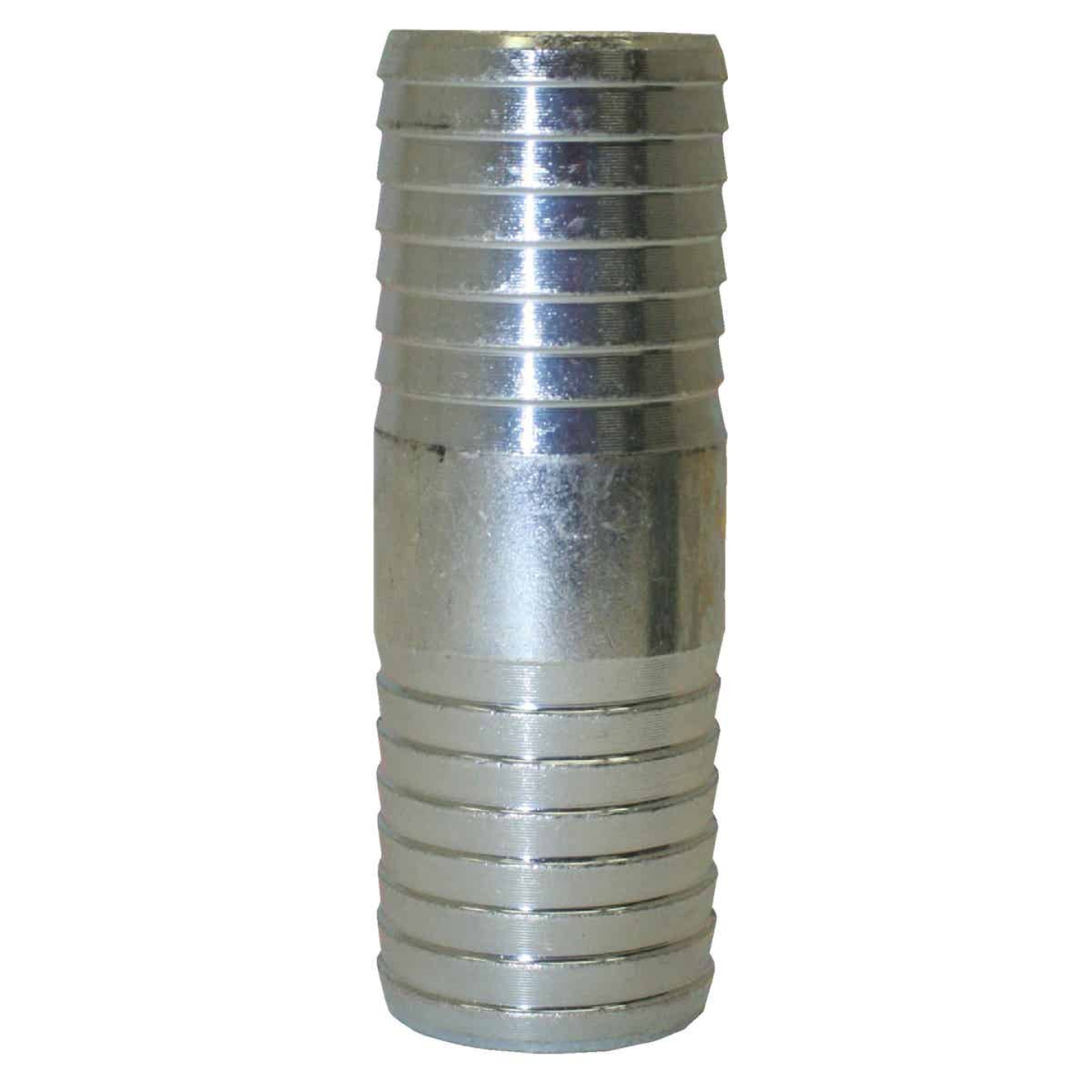 Merrill 1 In. x 1 In. Barb Insert Galvanized Coupling Image 1