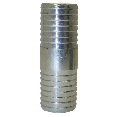 Merrill 1-1/2 In. x 1-1/2 In. Barb Insert Galvanized Coupling