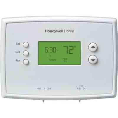 Honeywell Home 5-2 Day Programmable White Digital Thermostat
