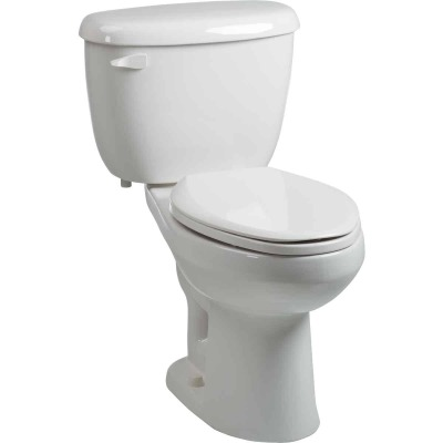 Briggs Abingdon White Elongated Bowl 1.6 GPF Toilet Express
