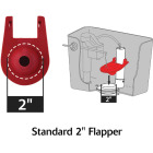Korky Quietfill Fill Valve and Premium Flapper Kit  Image 6