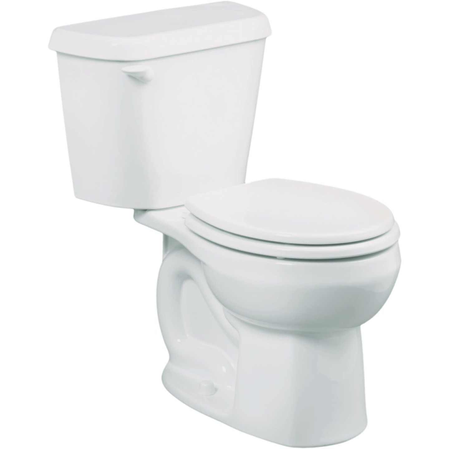 American Standard Colony White Round Bowl 1.6 GPF Complete Toilet Image 1