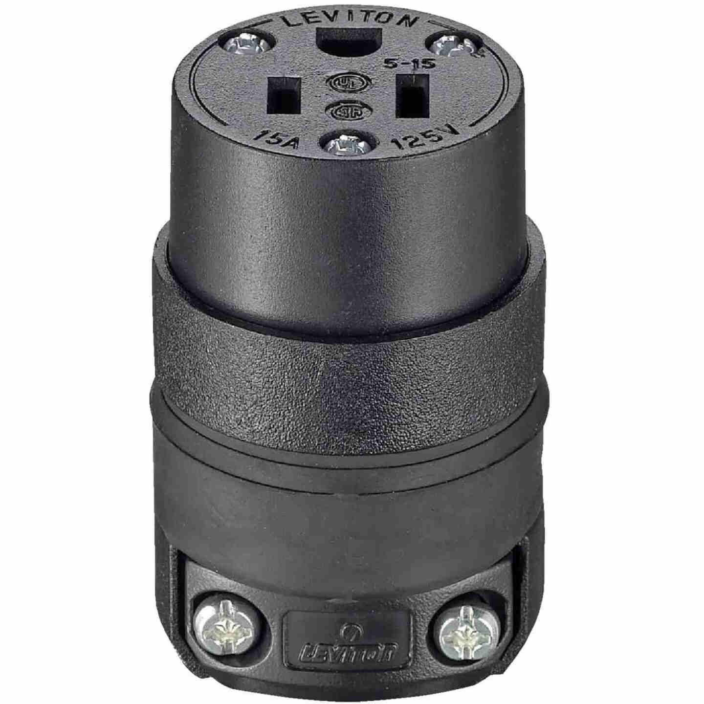 Do it 15A 125V 3-Wire 2-Pole Rough Use Cord Connector Image 3