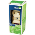 Leviton Commercial Grade Ivory 15A Switch & Pilot Light Image 3
