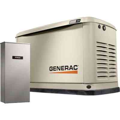 Generac Guardian WiFi 16,000W Natural Gas/LP Home Standby Generator Home Back Up Generator with Smart Switch