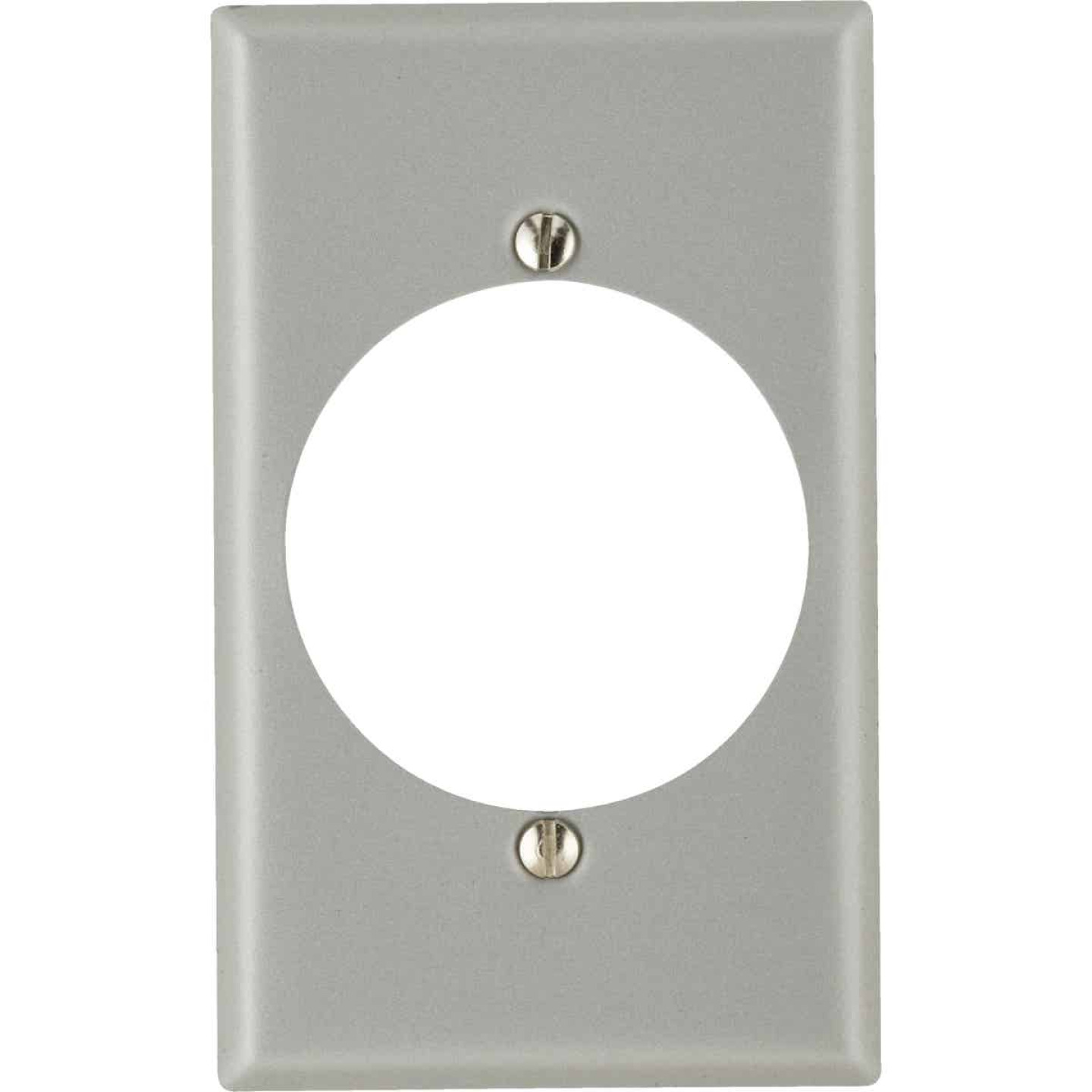 Leviton 1-Gang Steel Range/Dryer Wall Plate Image 1