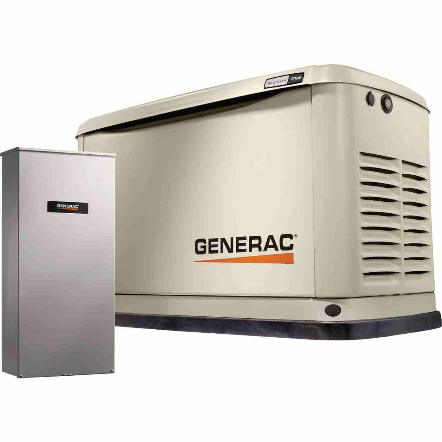 Generac Guardian WiFi 18,000W Natural Gas/LP Home Standby Generator with Smart Switch Image 1