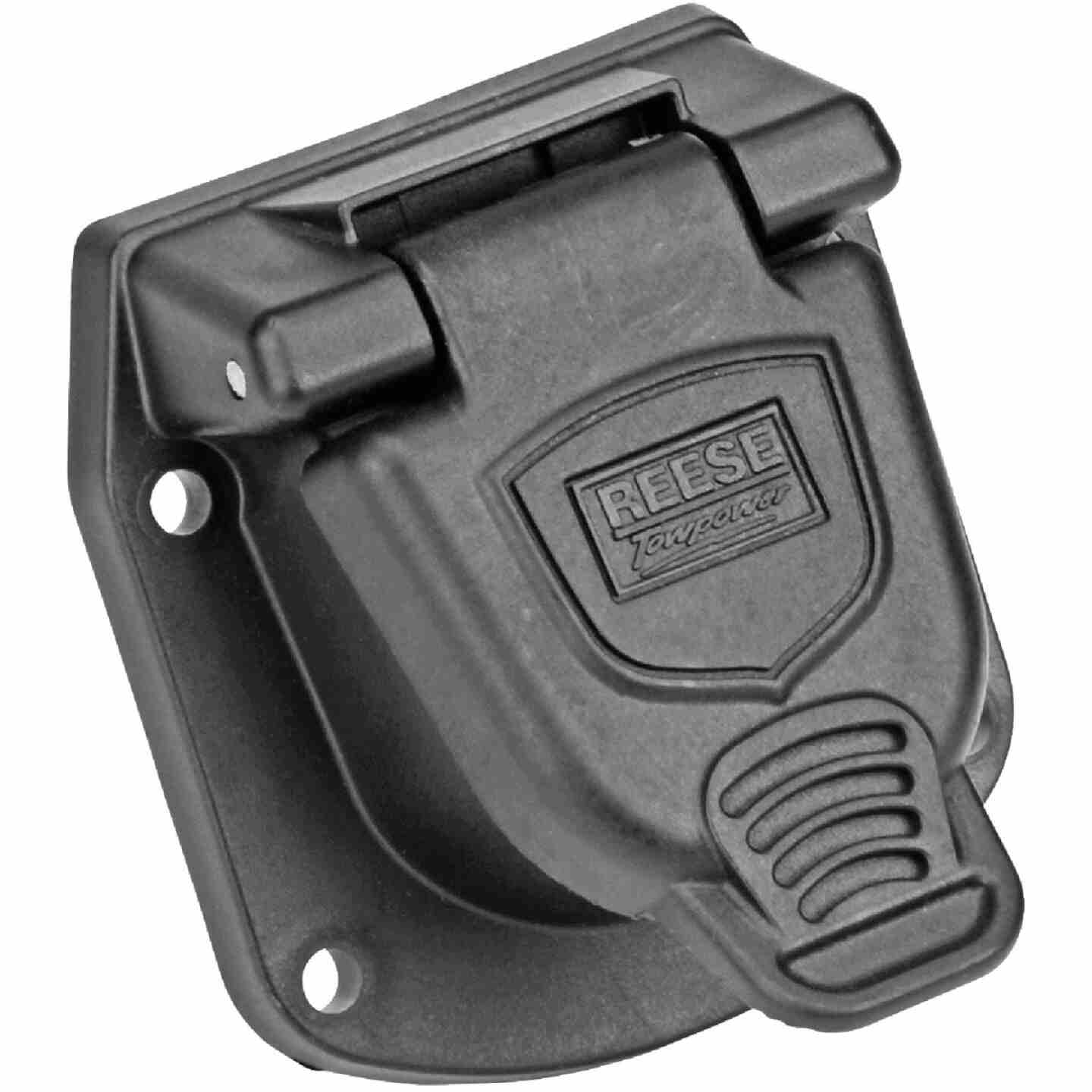 Reese Towpower 6-Round Professional Vehicle Side Connector Image 1