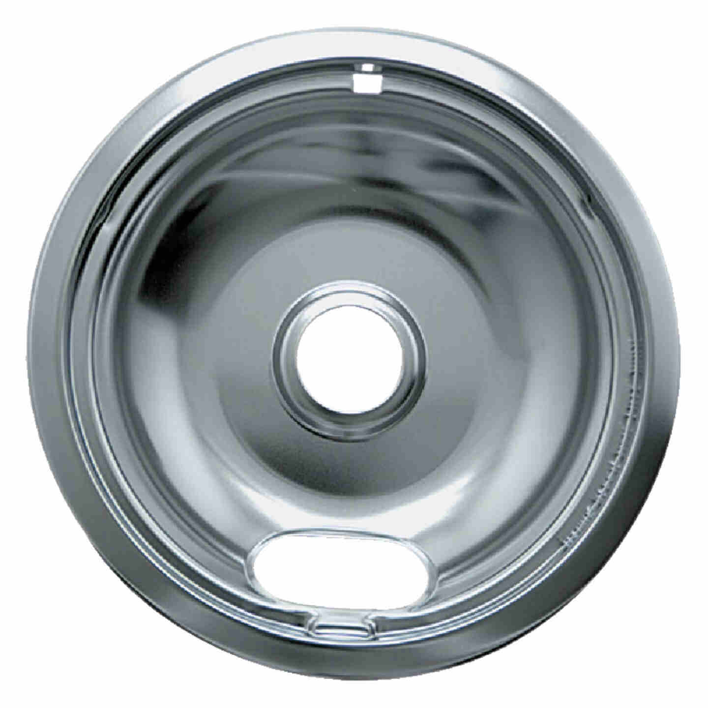 """Range Kleen Electric 6"""" Style A Round Chrome Drip Pan Image 1"""