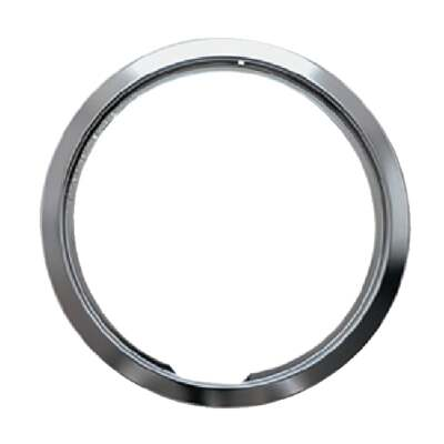 "Range Kleen Style D 8"" Chrome Trim Ring"