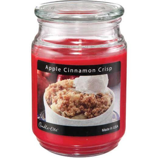 Candle-Lite Everyday 18 Oz. Apple Cinnamon Crisp Jar Candle
