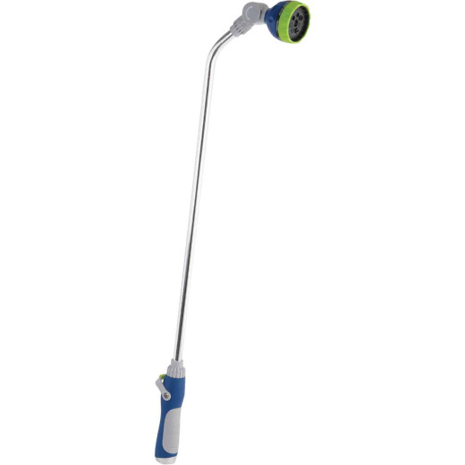 Best Garden 33 In. 7-Pattern Water Wand with Thumb Trigger, Blue & Gray