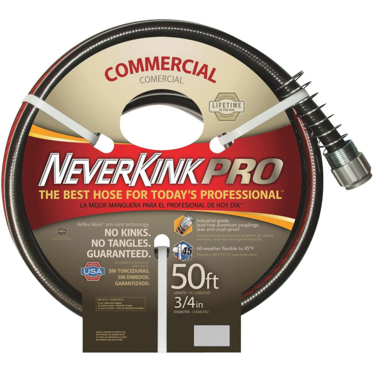 "NeverKink XP 3/4"" x 50' Farm & Ranch Hose Image 2"